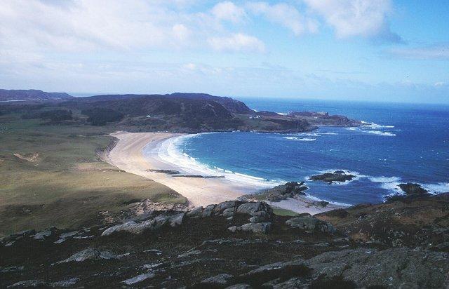 Kiloran Bay from Carnan Eoin