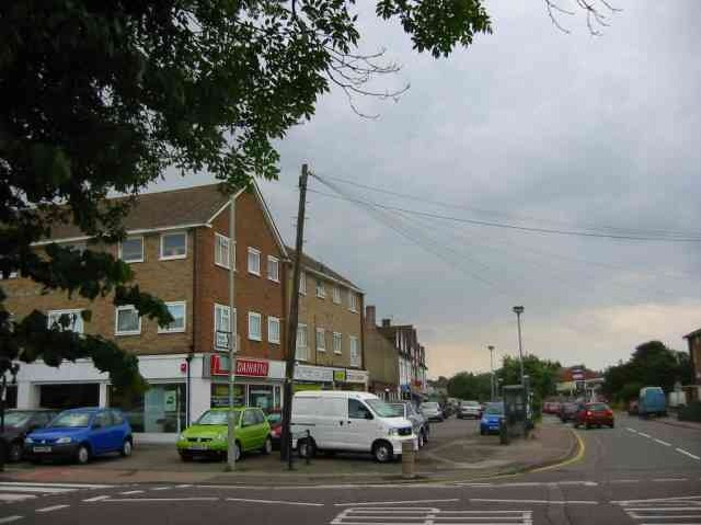 Car showrooms and shops,Welham Green