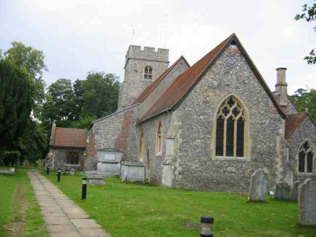 Church at North Mymms