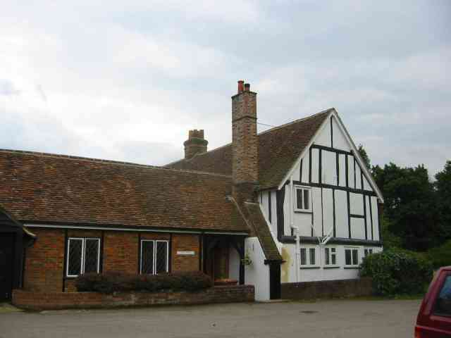 House opposite North Mymms Church