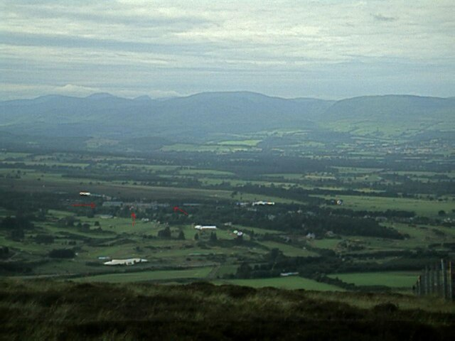 Gleneagles from Eastbow Hill