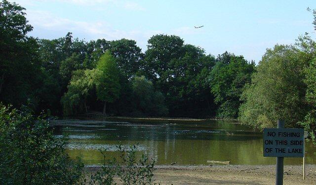 Milton Mount Lake, Pound Hill, Crawley, West Sussex