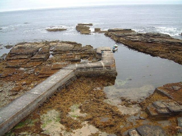 Auckengill jetty