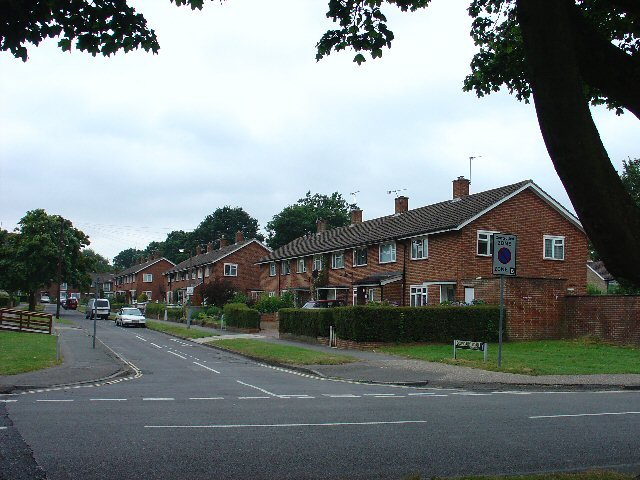 Houses, Boundary Road, Northgate, Crawley, West Sussex