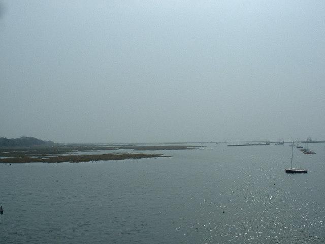Lymington River estuary