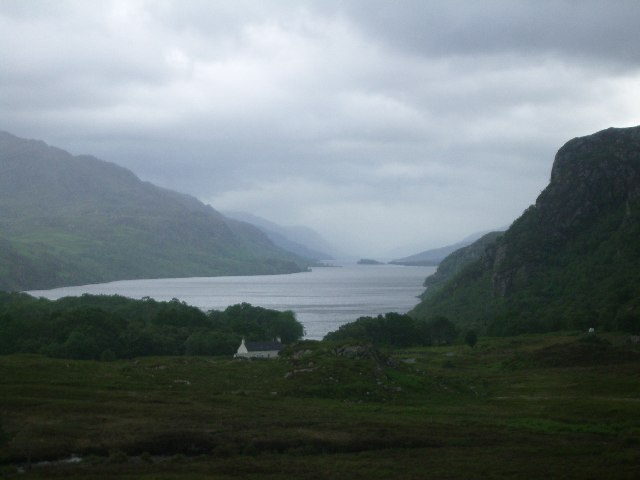 Tollie Farm and Loch Maree