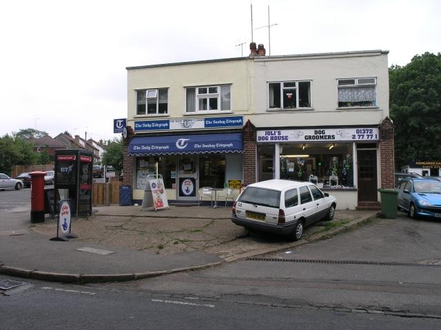 Corner Shop with Post Box and Phone Box