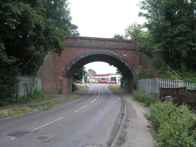 Railway Bridge near Tadworth