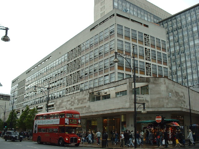 Stores on Oxford Street
