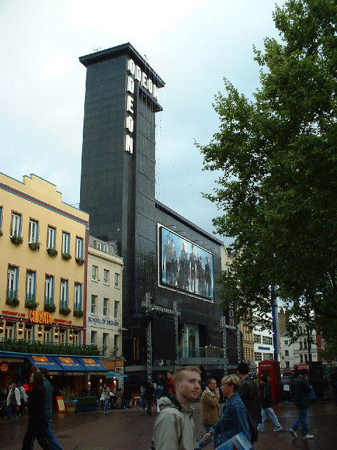 Odeon cinema, Leicester Square