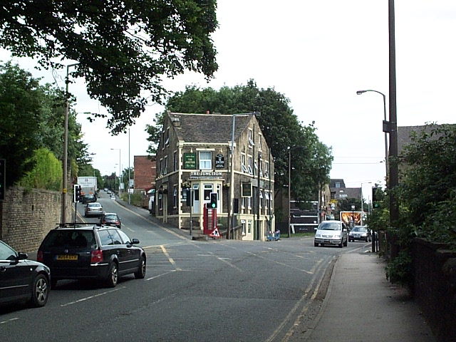Junction of Otley Road and Baildon Road