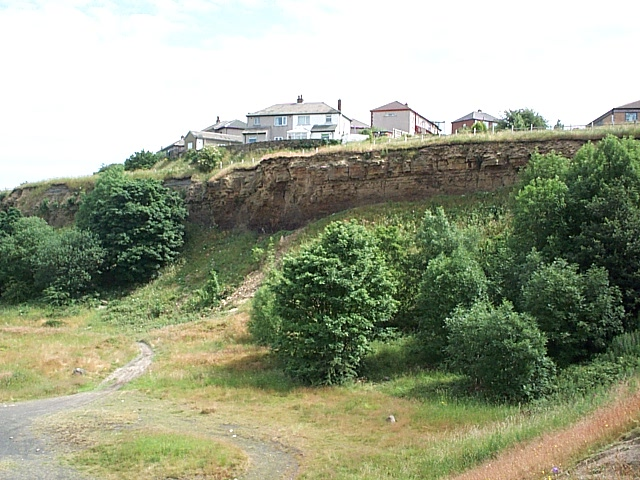Disused quarry at Wrose
