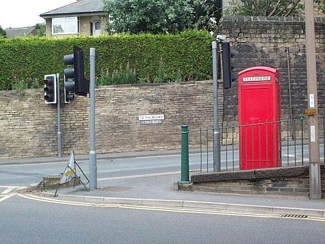 Bottom of Baildon Road
