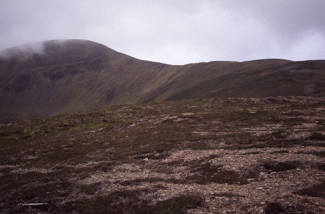 NE slopes of A'Mharconaich