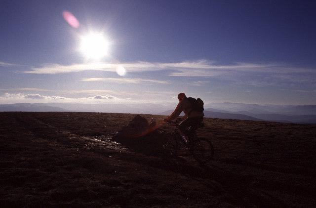 Summit cairn of Mullach Clach a' Bhlair