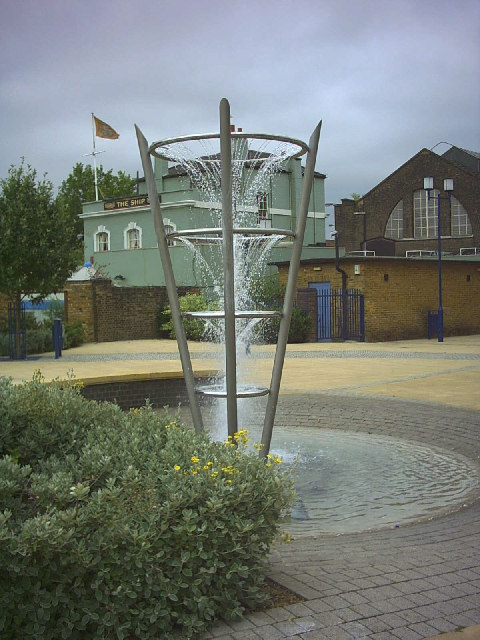 Fountain, Nickols Walk, Wandsworth