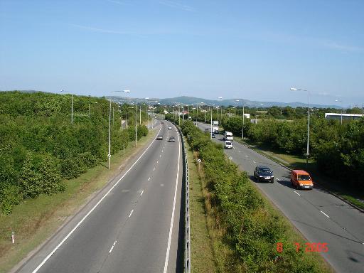A55 Dual Carriageway