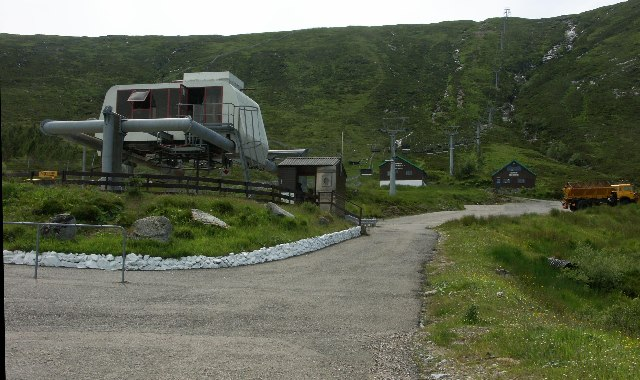 White Corries Ski Centre (Glencoe) in Summer