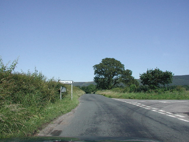 Road to Clay Bank and Chop Gate