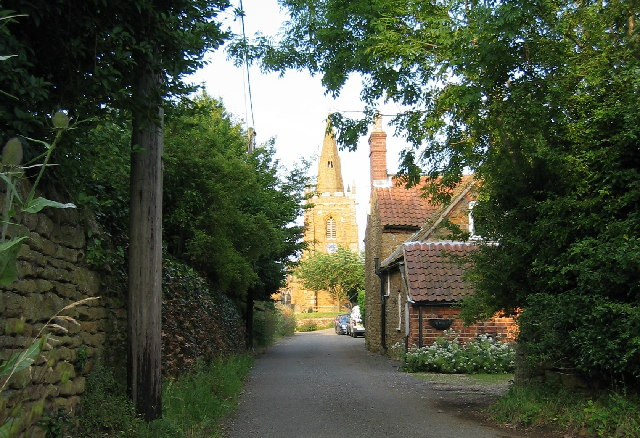 Church Lane, Eaton, Leicestershire.