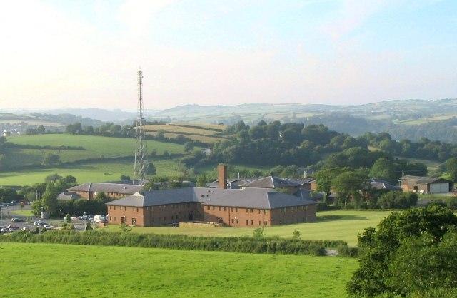 Dyfed-Powys Police HQ, Llangunnor, Carmarthen