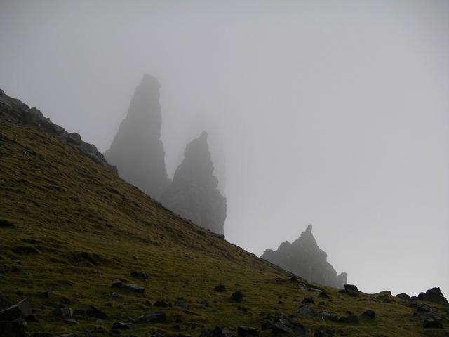 pinnacles near Storr