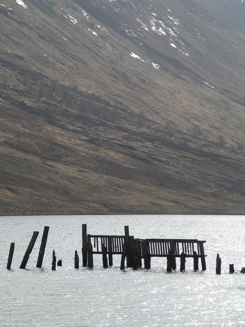Ruined Jetty, Loch Etive