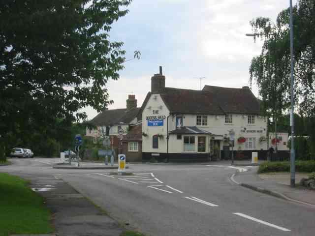 Queen's Head Pub Roestock {Colney Heath}