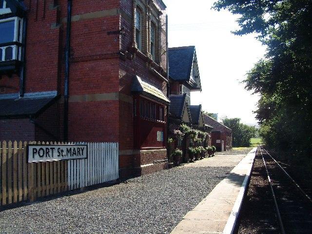 Port St Mary station, Isle of Man