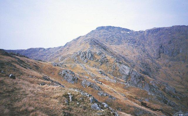 East ridge of Sgurr nan Eugallt
