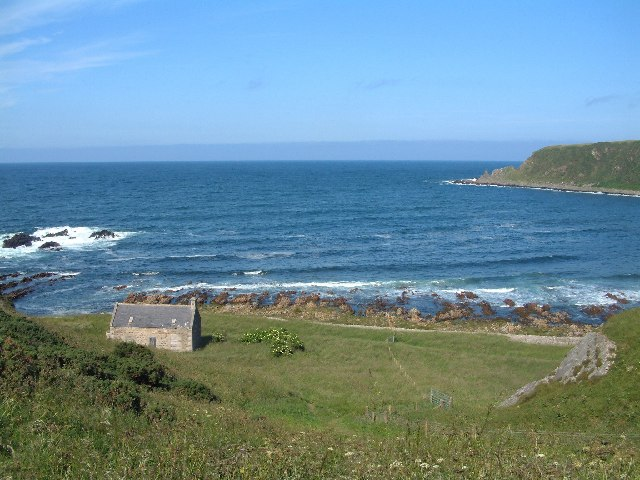 Bothy near Logie Head