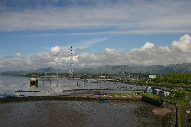 Upstream from Kincardine Bridge