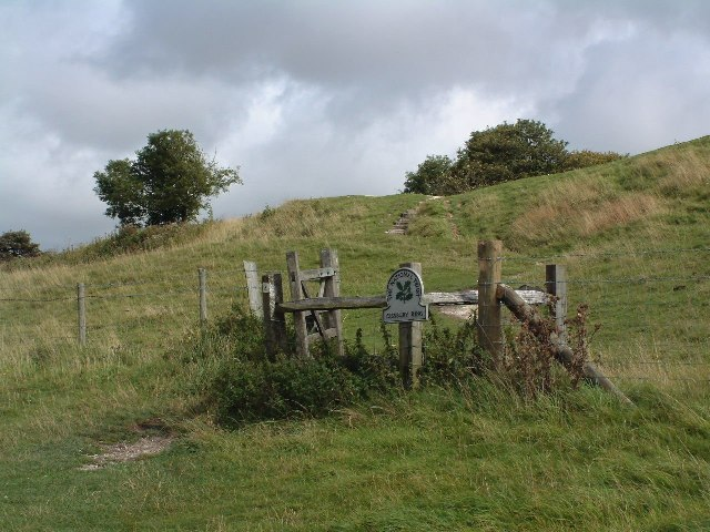 Path to Cissbury Ring