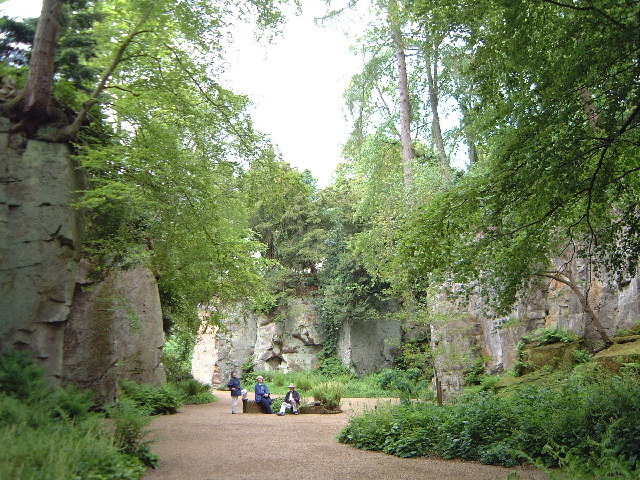 Quarry Gardens at Belsay House