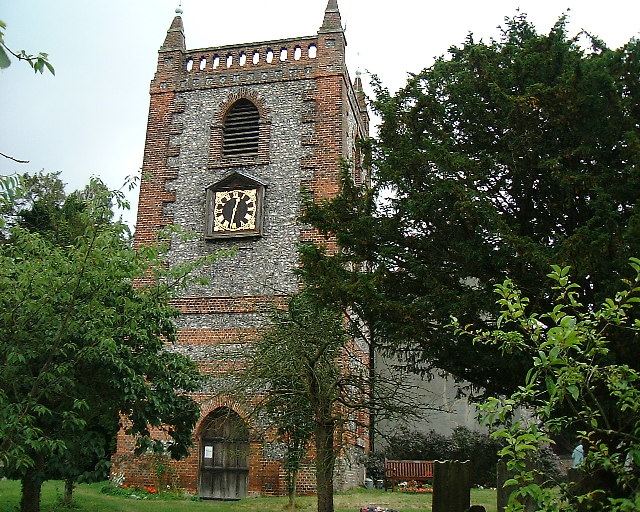 St Peter and St Paul Church at Shoreham, Kent