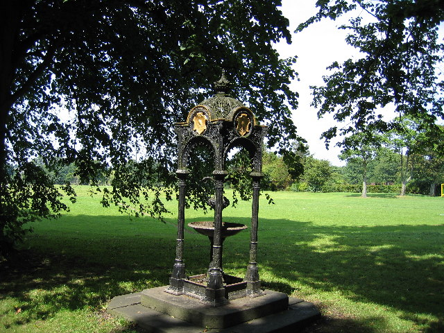 Drinking Water Fountain, Haslam Park, Ashton