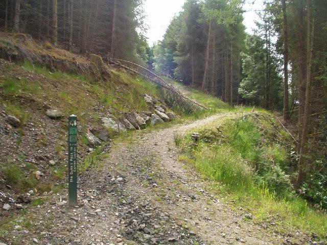 Footpath heading to Corran Lochan