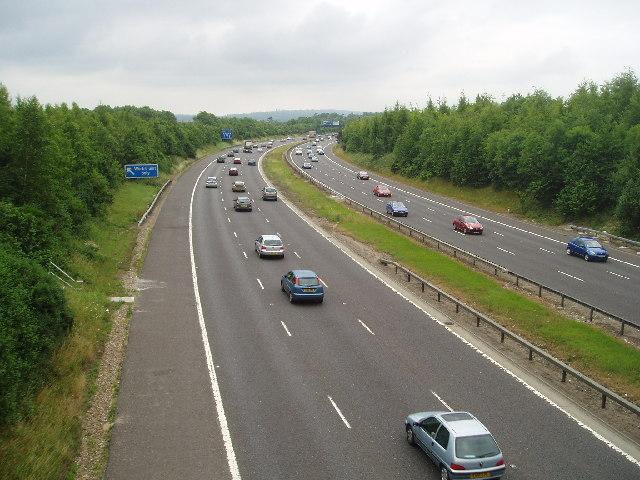 M25 near Sevenoaks
