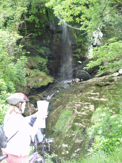 Waterfall, Argyll Forest by Loch Goil