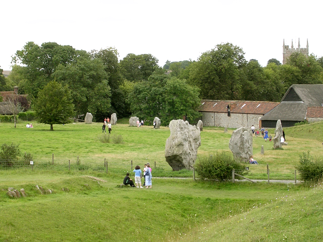 North-west quadrant of Avebury henge