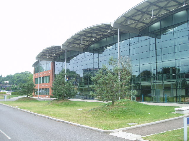 BT Workstyle glass building