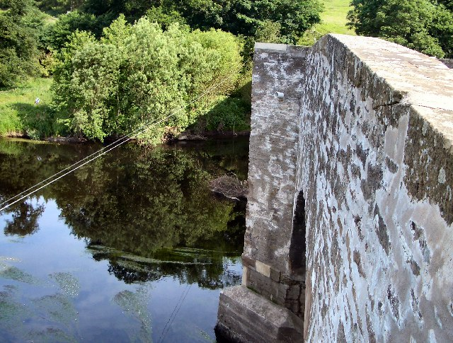 River Earn at Forteviot Bridge