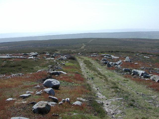 Track over Wayworth Moor