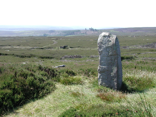Hob on the Hill boundary stone