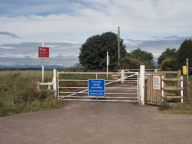 Private level crossing