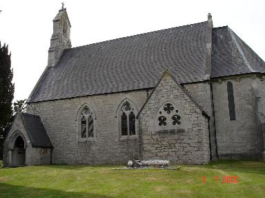 St Mary's Church, Cefn Pella