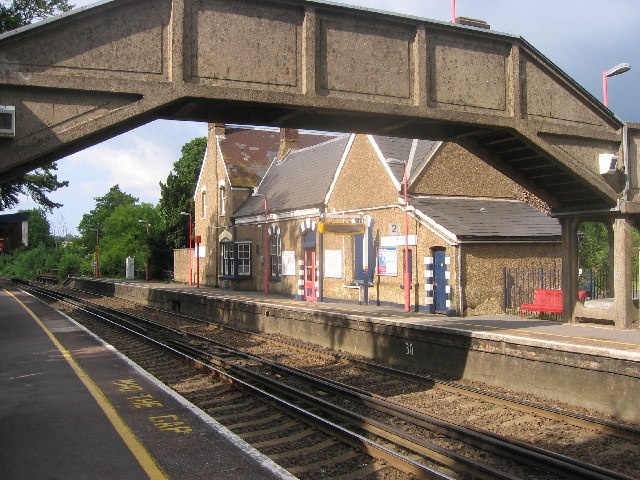 Eynsford Railway Station, Kent