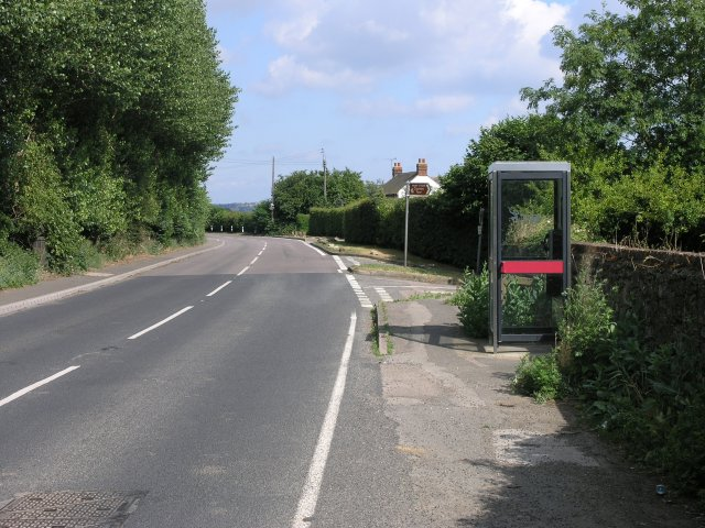 Telephone Box on the A 26 to Maidstone