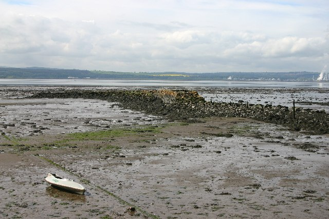 Culross old harbour