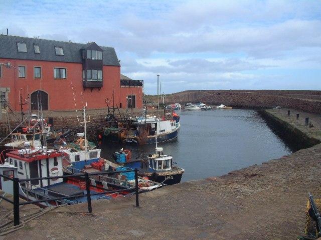 Cromwell Harbour, Dunbar